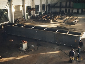 镀锌锅、镀锌槽制作车间
